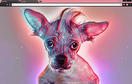 Cutest Puppy In The World Chrome Theme