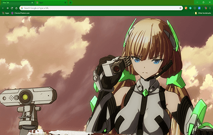 Exiled From Paradise Google Chrome Theme