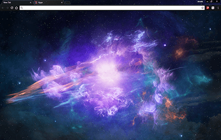 Star Light Chrome Theme