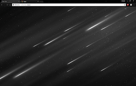 Starfall Chrome Theme