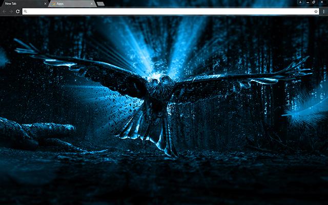 Adler Owl Google Chrome Theme