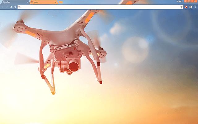 Air Drone Google Chrome Theme