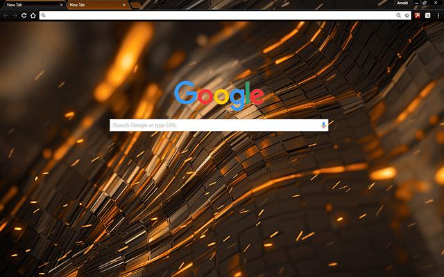 Alien Forge Google Theme