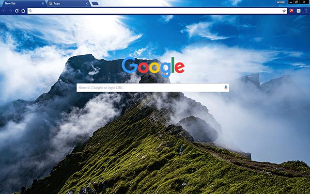 Archipelago Google Theme