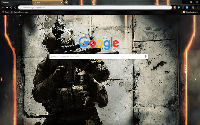 Army Ranger Google Theme