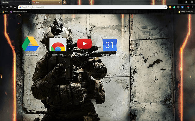 Army Ranger Chrome Theme