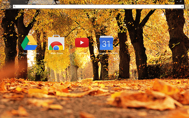 Autumn Trees - Web Apps