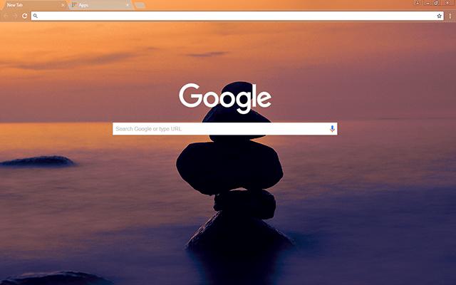 Balance Google Theme