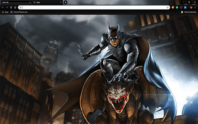 Batman Enemy Within - HD Background