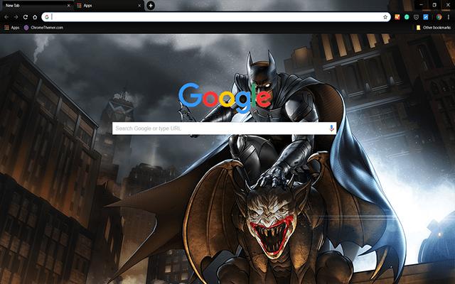 Batman Enemy Within Google Theme