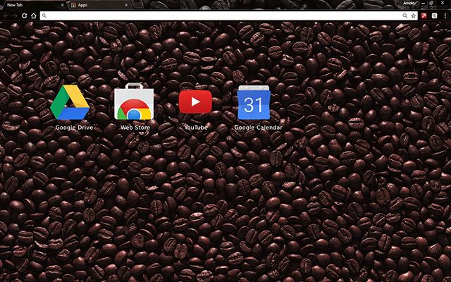 Black Coffee Chrome Theme