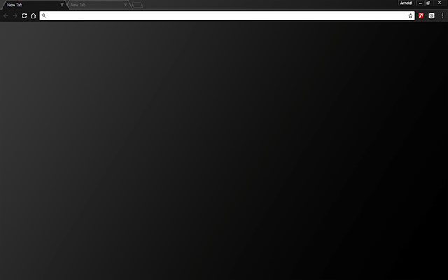 Black Matte Google Chrome Theme