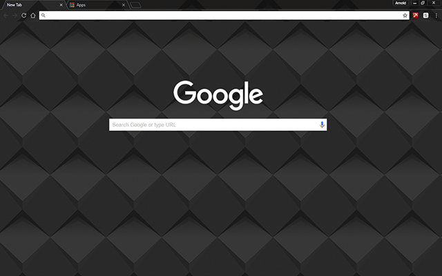 Dark Shader Chrome Theme