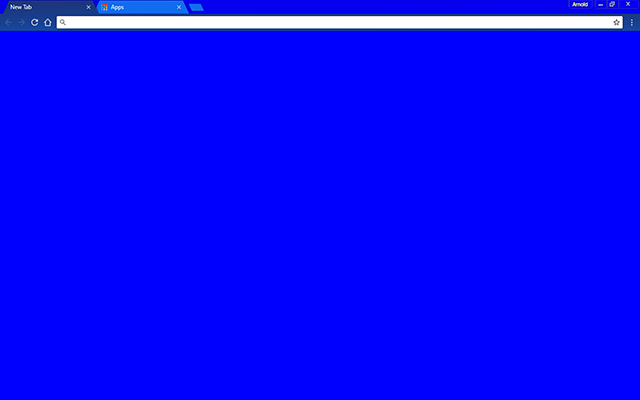 Blue Bloo Google Chrome Theme