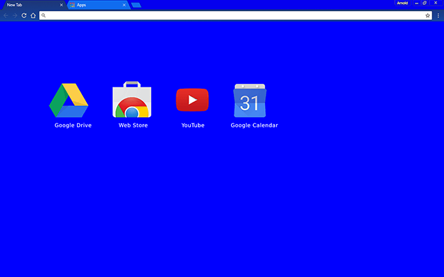 Blue Bloo Chrome Theme