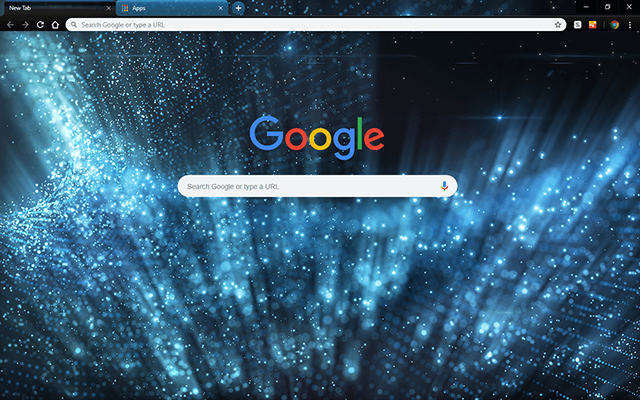 Blue Chill Google Theme