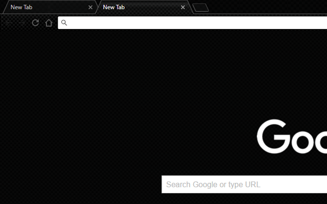Carbon BlackOut - Google Homepage