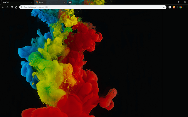 Color Abstraction Google Chrome Theme
