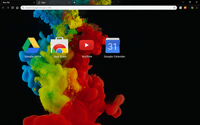 Color Abstraction Chrome Theme