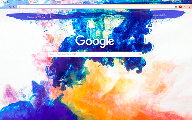 Color Mixer - Google Homepage