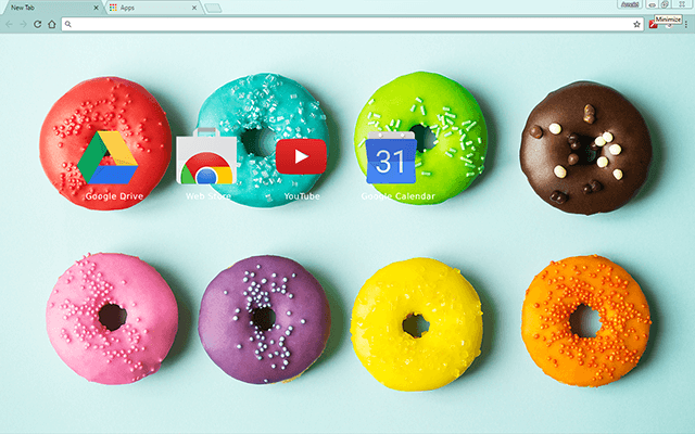 Colorful Donuts - Web Apps