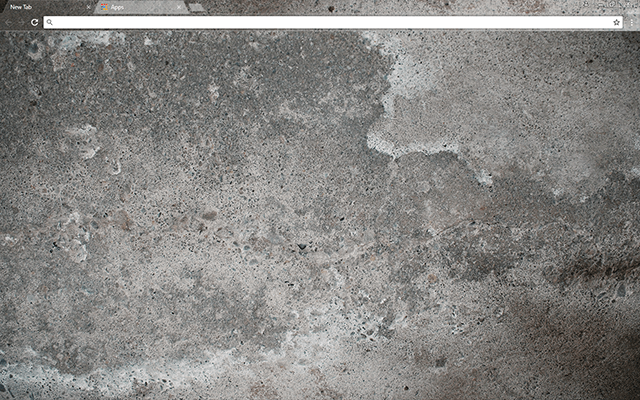 Concrete Google Chrome Theme