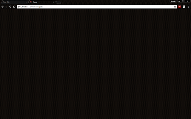 Dark Grid Google Chrome Theme