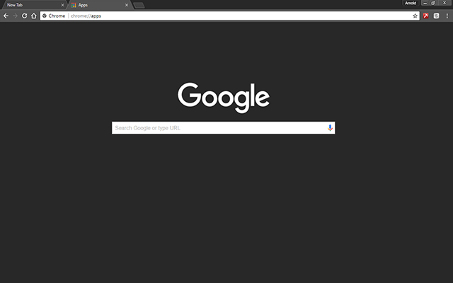 Darker Google Chrome Theme
