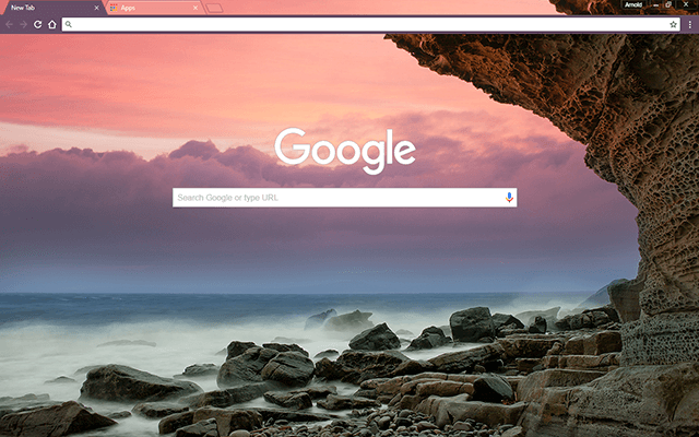 Dusky Coast Google Chrome Theme