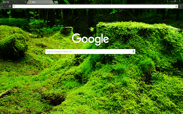 Green Forestry Theme