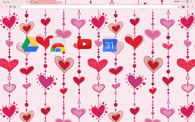 Hearts In Love - Web Apps