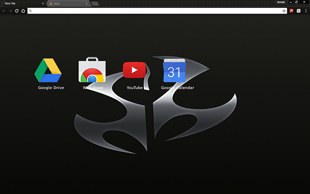 Hitman 47 Chrome Theme