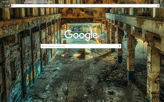 Lost Places - Google Homepage