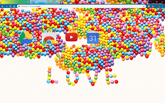 Love Candy - Web Apps