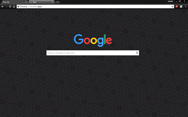 Material Viking Google Chrome Theme