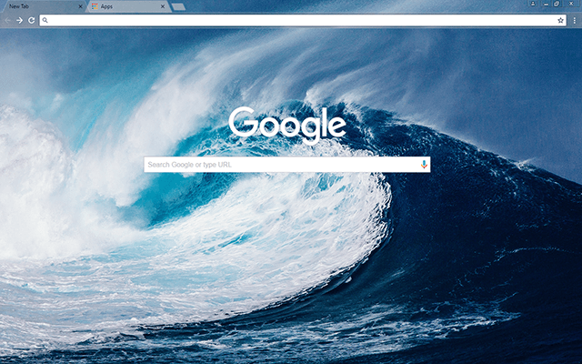 Mega Wave - Google Homepage