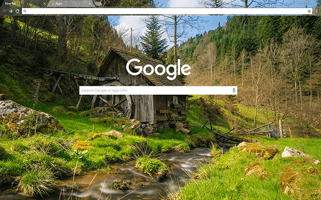 Mill House Google Chrome Theme