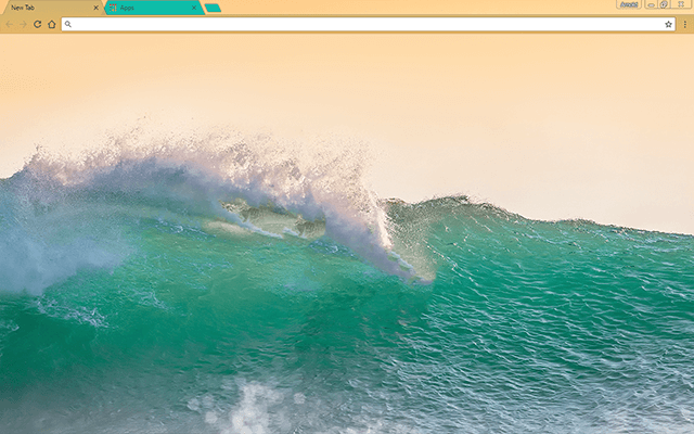 Ocean Crush Google Chrome Theme