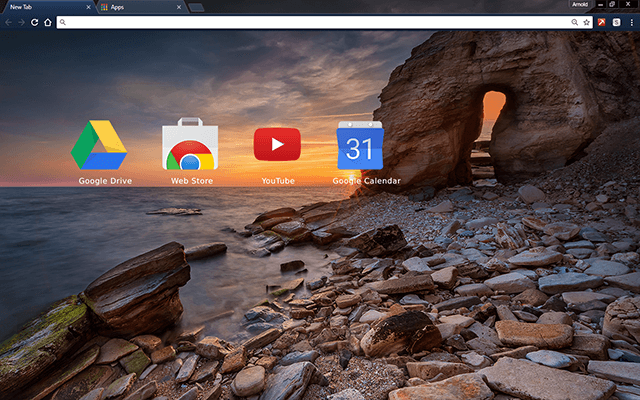 Secret Door Google Chrome Theme