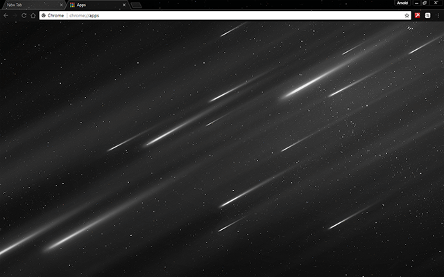 Starfall Google Chrome Theme