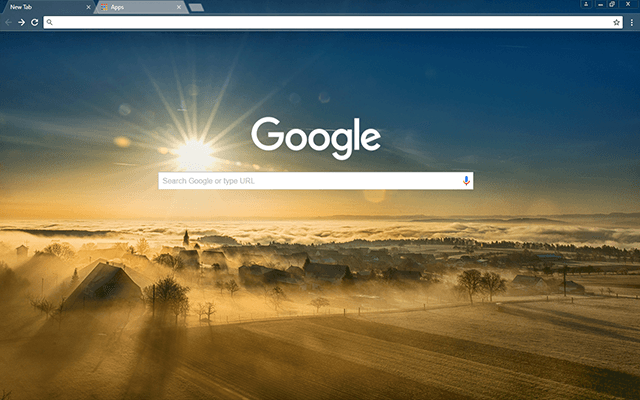 Sunny Valley - Google Homepage