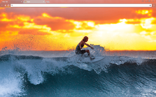 Surfer Google Chrome Theme