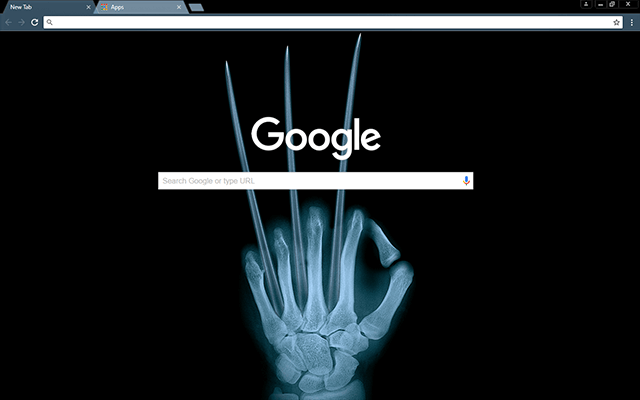 Wolverine X-Ray Theme
