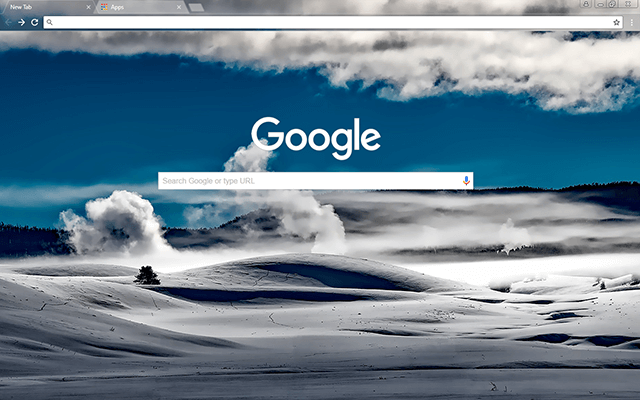 Yellowstone National Park Google Chrome Theme