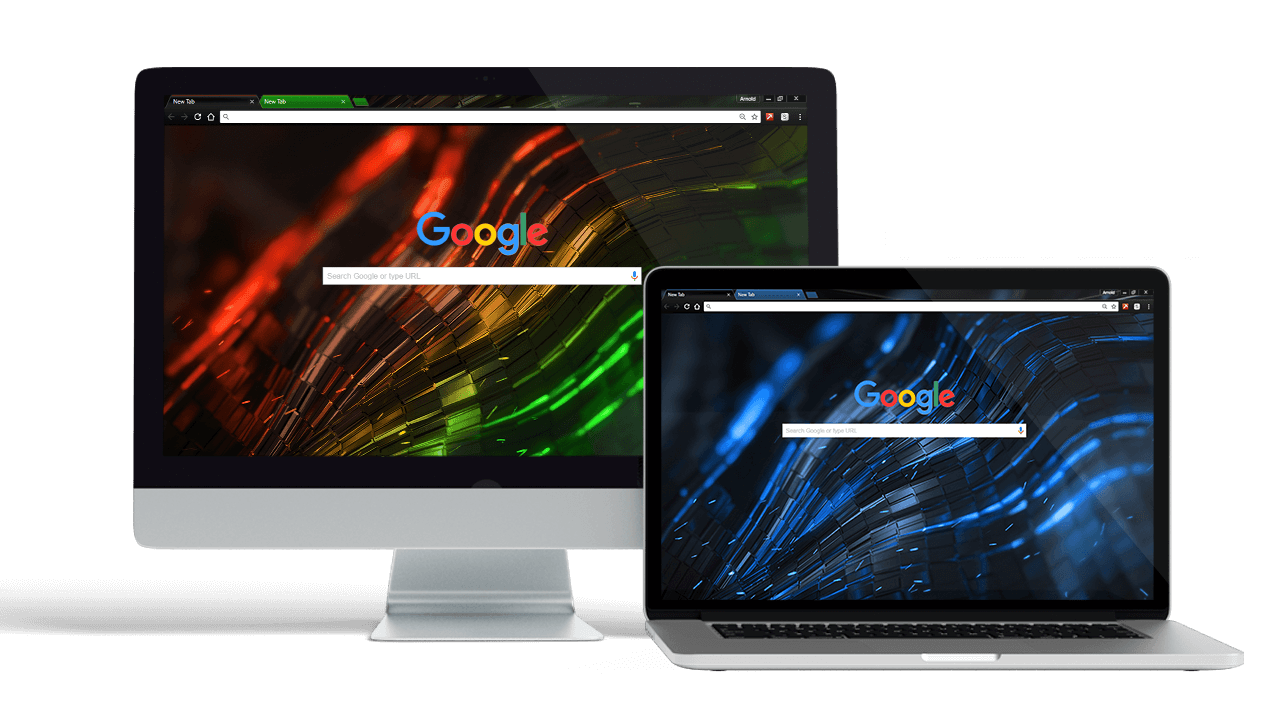 Alien Google Chrome Themes