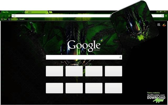 Aliens Chrome Theme