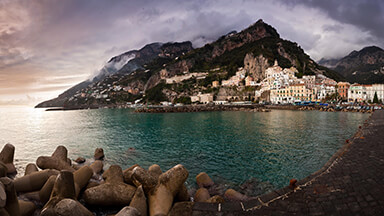 Amalfi Bay Chromebook Wallpaper