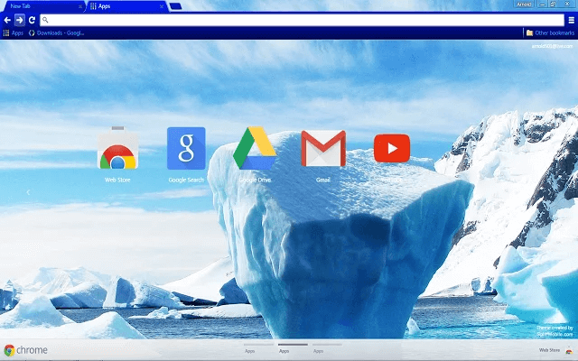 Arctic Google Theme