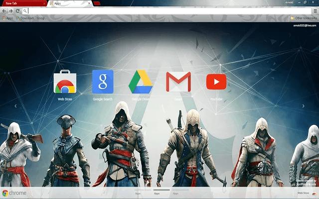 Assassin's Creed Google Chrome Theme