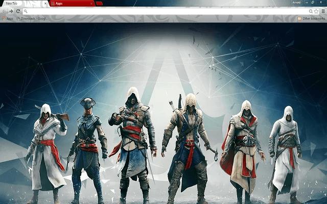 Assassin's Creed Google Theme